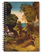 The Three Ages Of Man 1515 Spiral Notebook