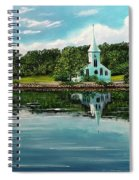 The Three Churches  Spiral Notebook