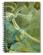 The Three Guardians Spiral Notebook
