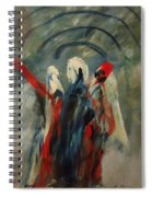 The Three Kings Of Christmas Spiral Notebook