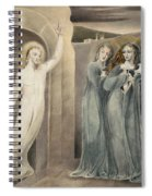 The Three Maries At The Sepulchre Spiral Notebook