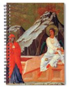 The Three Marys At The Tomb 1311 Spiral Notebook