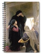 The Three Marys At The Tomb Spiral Notebook