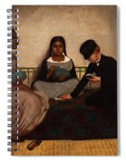 The Three Races Or Equality Before The Law Spiral Notebook