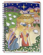 The Three Shepherds Spiral Notebook