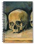 The Three Skulls Spiral Notebook