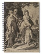 The Three Women Returning From The Tomb Spiral Notebook
