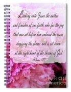 The Throne - Verse Spiral Notebook