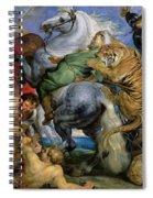 The Tiger Hunt Spiral Notebook