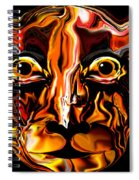 The Tigress. Spiral Notebook