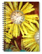 The Time Flowers Spiral Notebook