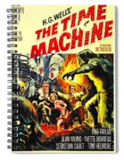 The Time Machine B Spiral Notebook