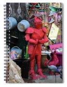 The Tin Man Spiral Notebook
