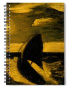 The Toilers Of The Sea Spiral Notebook