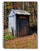 The Tool Shed Spiral Notebook