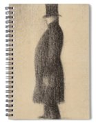 The Top Hat Spiral Notebook