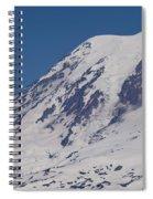 The Top Of Mount Rainier Spiral Notebook