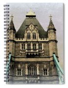 The Tower Bridge In London 2 Spiral Notebook