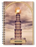 The Tower Spiral Notebook