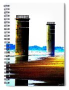 The Towers After A Storm Spiral Notebook