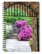 The Tower's Garden Door Spiral Notebook