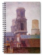 The Towers Saint Sulpice 1887 Spiral Notebook