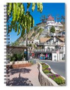 The Town Of Avalon Spiral Notebook