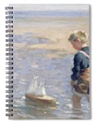 The Toy Boat Spiral Notebook
