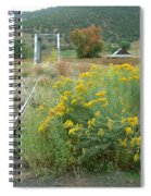 The Tracks At Pagosa Junction Spiral Notebook