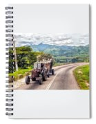 The Tractor Spiral Notebook