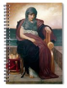 The Tragic Poetess Spiral Notebook