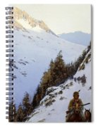 The Trail Over The Pass, 1910 Spiral Notebook
