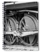 The Train Goes By Spiral Notebook