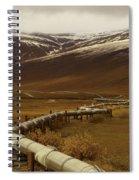 The Trans Alaska Pipeline Spiral Notebook