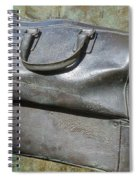 The Travellers Travel Bag Spiral Notebook