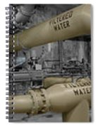 The Treatment Of Water Spiral Notebook