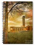 The Tree And The Bell Tower Spiral Notebook