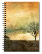 The Tree And The Roof Top Spiral Notebook
