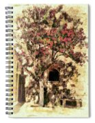 The Tree In The Corner Of The Courtyard Spiral Notebook