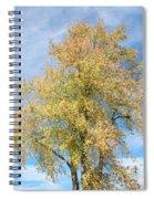 Town Tree  Spiral Notebook