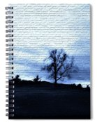 The Trees In Winter Spiral Notebook
