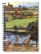 The Trefilerada On Peignitz Spiral Notebook