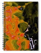 The Trellis Spiral Notebook