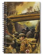 The Trenches Spiral Notebook