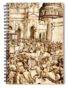 The Triumph And Vespasian De Titus 1500 Spiral Notebook