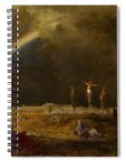 The Triumph At Calvary Spiral Notebook