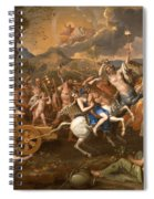 The Triumph Of Bacchus Spiral Notebook