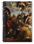 The Triumphal Entry Of Christ In Jerusalem Spiral Notebook