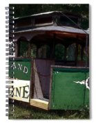 The Trolley Out Back Spiral Notebook