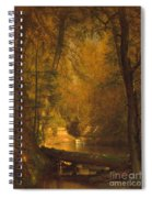 The Trout Pool Spiral Notebook